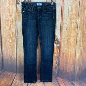 Paige Size 26 Jeans Skyline Straight Medium Wash